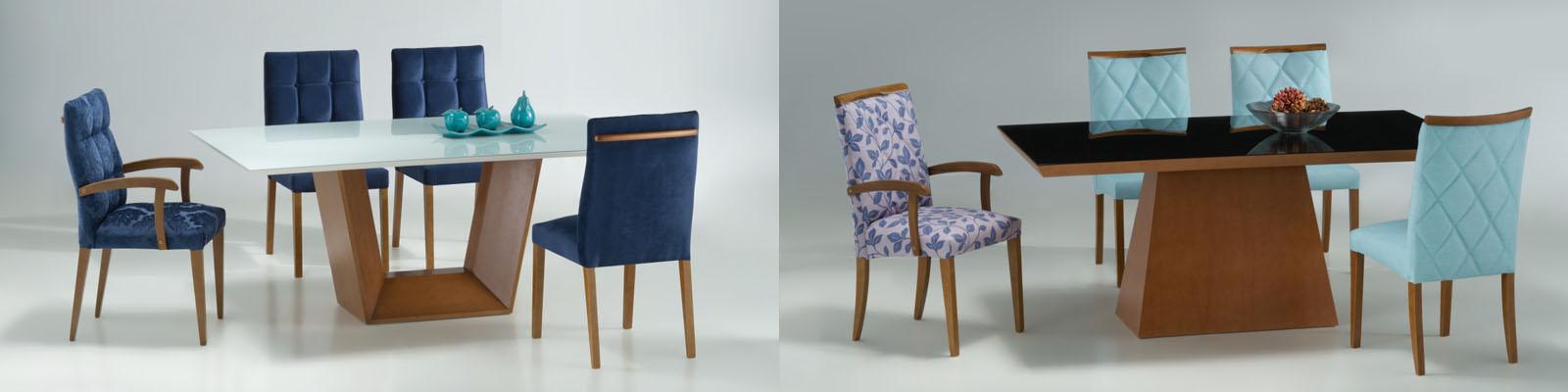 Qualitá - linha mesas e cadeiras